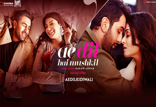 Ae Dil Hai Mushkil - 2016 (Bollywood Romantic Drama Film)