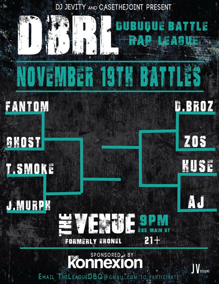 DUBUQUE BATTLE RAP LEAGUE