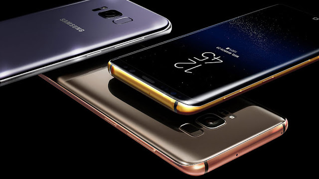 Samsung Galaxy S8: Finisher presents three luxury models