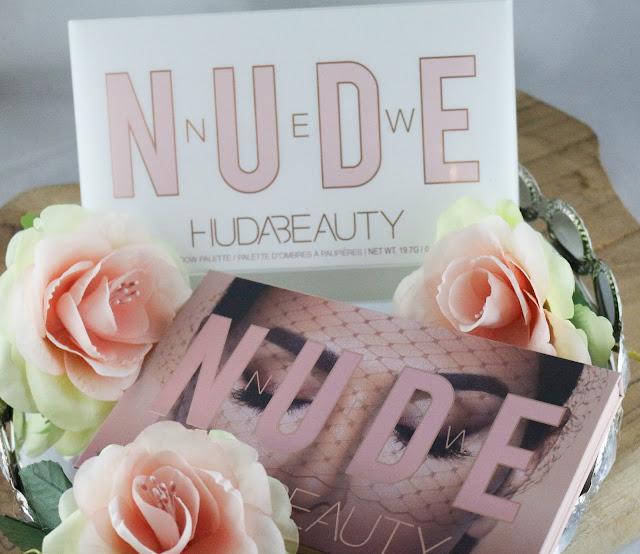 Huda beauty New Nude palette / Mon coup de coeur de cette fin d'année