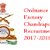 Ordnance Factory Chandrapur Recruitment 2017-2018 Application Form www.ofbindia.gov.in