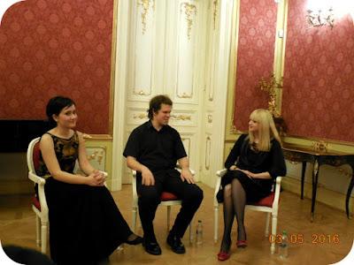 Eszter Karasszon (violoncel) si Imre Dáni (pian)