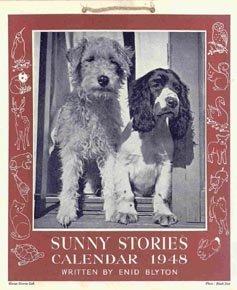 Sunny Stories Calendar 1948 Enid Blyton