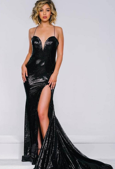 Black Sweetheart Moonlight Dress