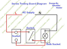 Draw Your Wiring How To Make Series Testing Board For Low Resistance Electrical Appliances Testing