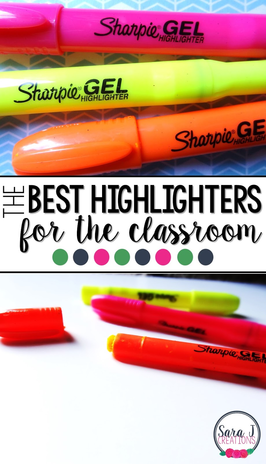 The best school supply for the classroom!  These highlighters are amazing!
