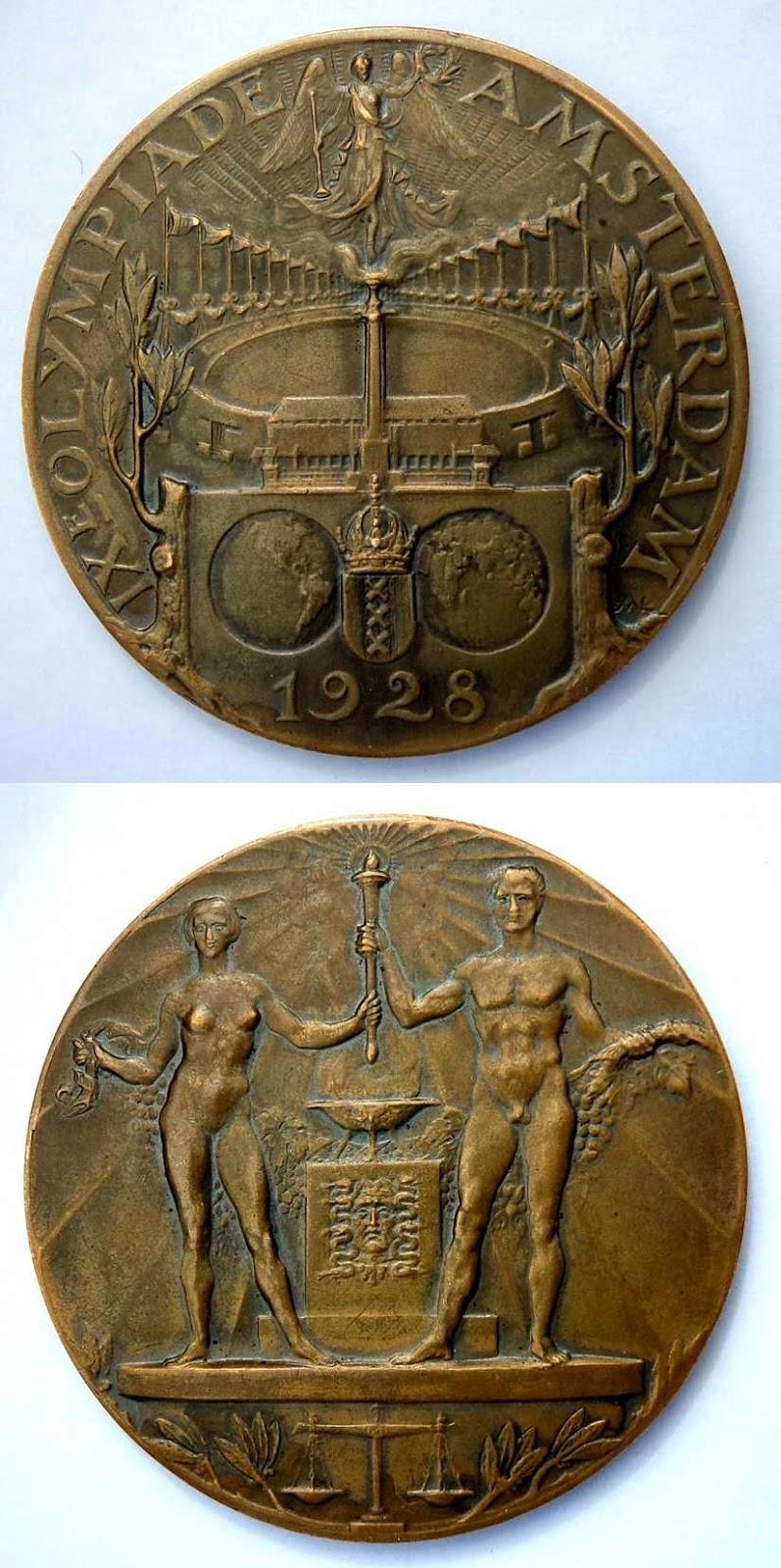 Medalla Juegos Olímpicos de Ámsterdam 1928
