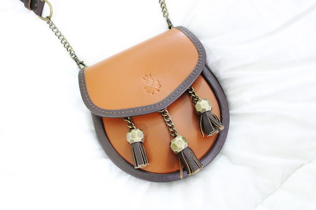 nixey bags, nixey review, nixey reviews, sporran bag, 1834 nixey chestnut, leather sporran bag, scottish leather bag, nixey review blog, nixey chestnut bag, sporran bags