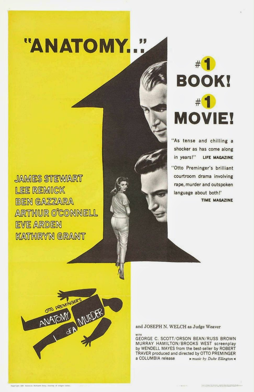 Oscar Movie Review Anatomy Of A Murder 1959 Lolo Loves Films