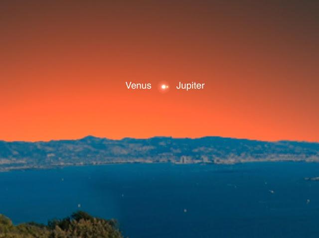 Venus Jupiter