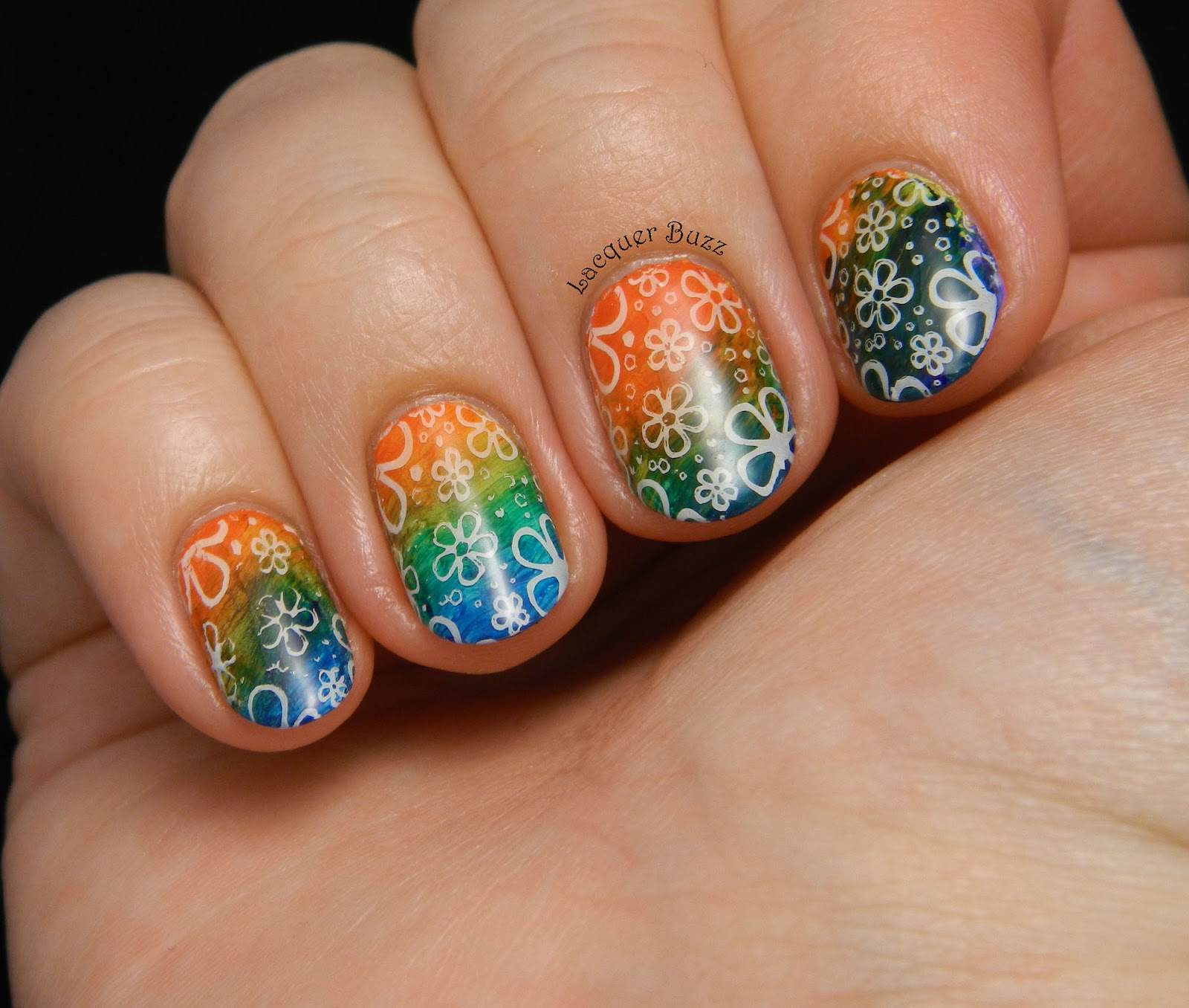 Lacquer Buzz: TPA Group Challenge: Hippie Nails