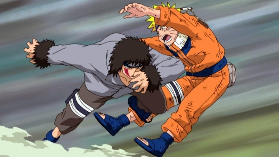 Kiba vs Naruto