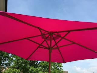 bright pink sun shade