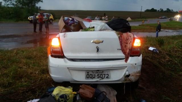 IML identifica as 3 vítimas mortas em trágico acidente na região