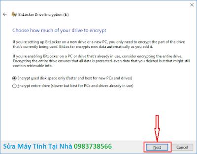 Đặt mật khẩu ổ cứng bằng BitLocker - H05