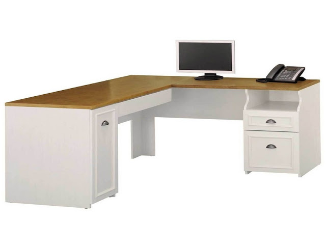 best buy cheap white l shaped office desks Leeds for sale