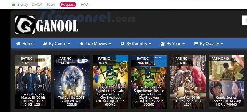 Ganool tempat download film lengkap