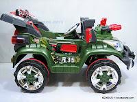 4 Mobil Mainan Aki Junior QX7566A Rocket Jeep