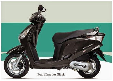 Honda Aviator Black Color