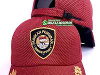 Topi Latihan Paskibra Warna Merah