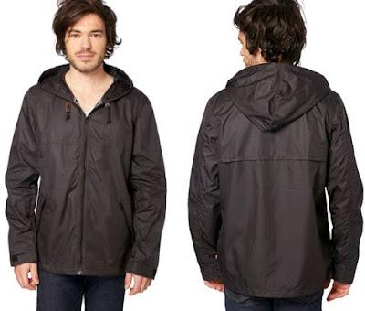 chaqueta impermeable levis