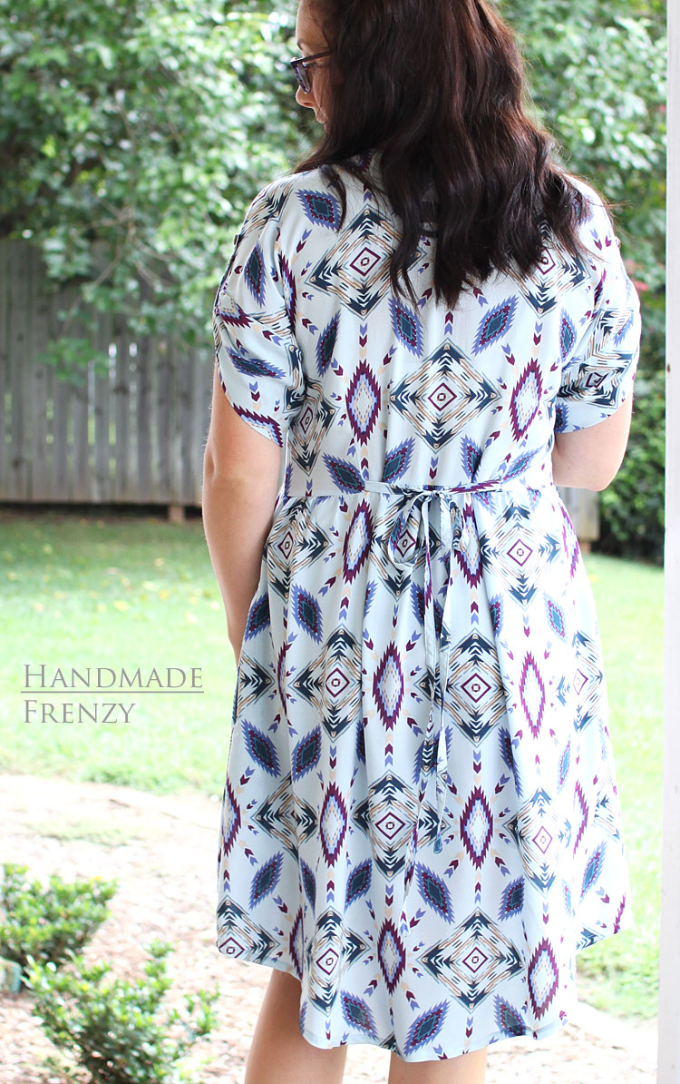Fringe Dress // Sewing For Women