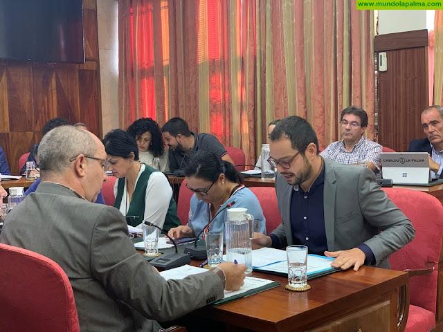 El grupo de Gobierno del PP y Psoe en el Cabildo vota en contra de que se elimine el impuesto autonómico al combustible en La Palma