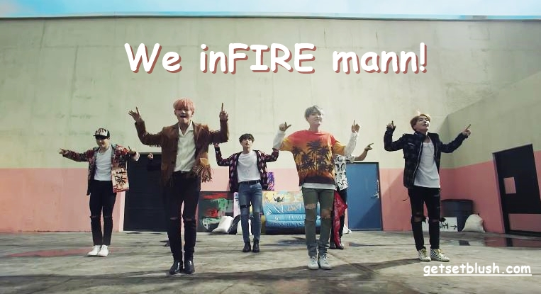 BTS-Kpop- ARMY-Bangtan boys-music video-album-fire-dope-Rap Monster-Suga-Jin-JHope-Jungkook-V-Jimin-Kim Taehyun- Tae Tae- Chim Chim-Min Yoongi-Kim Namjoon