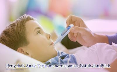 penyebab anak terus menerus sakit
