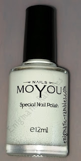 MoYou-Special-Nail-Polish-White-review
