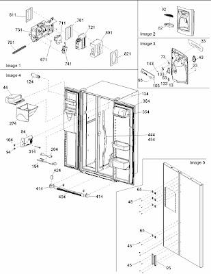 LED ELECTRONICS USA: ARS2464B Amana Refrigerator Control