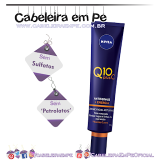 Creme Facial Noturno Q10 Plus C Antissinais - Nivea (Sem Sulfato e Sem Petrolatos)