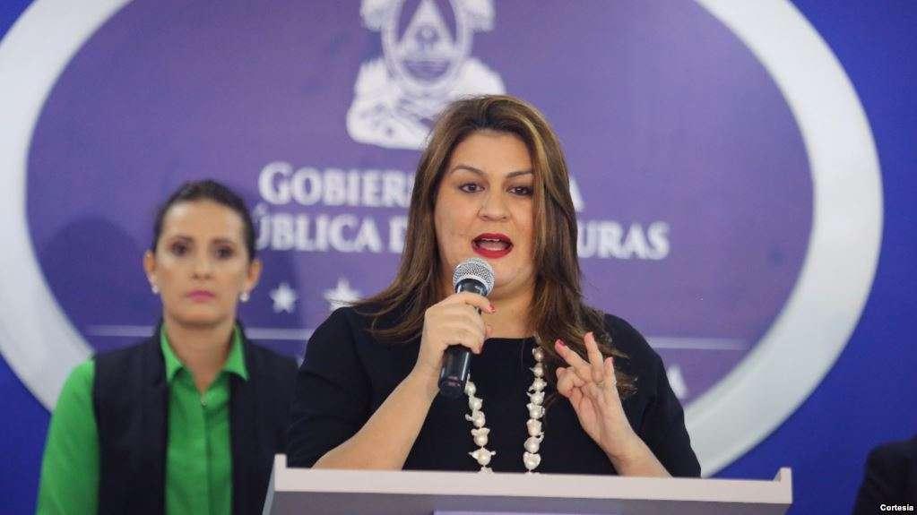 La canciller de Honduras, María Dolores Agüero / CORTESÍA