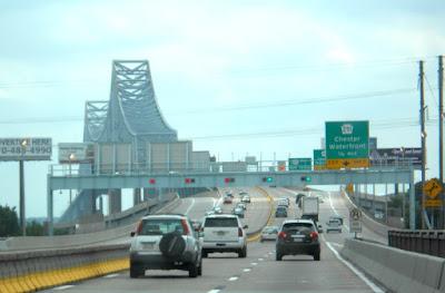 Commodore Barry Bridge near Philadelphia Pennsylvania