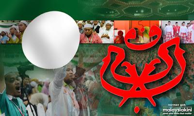 Hasil carian imej untuk tiada campuran PAS/UMNO