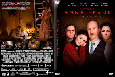 Filme O Diário de Anne Frank (The Diary of Anne Frank) DVD Capa