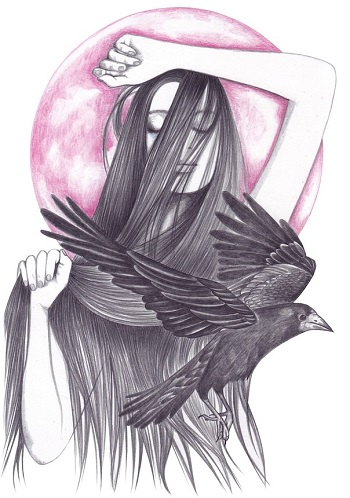 """Crow Dance"" by Andrea Hrnjak 