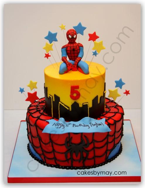 Spider Man Cakes On Pinterest Men Cake Spiderman