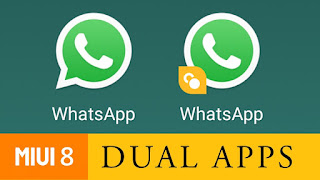ada kalanya pengguna android menginginkan sanggup  Cara gampang menjalankan 2 aplikasi yang sama di hp android xiaomi miui 7 & 8