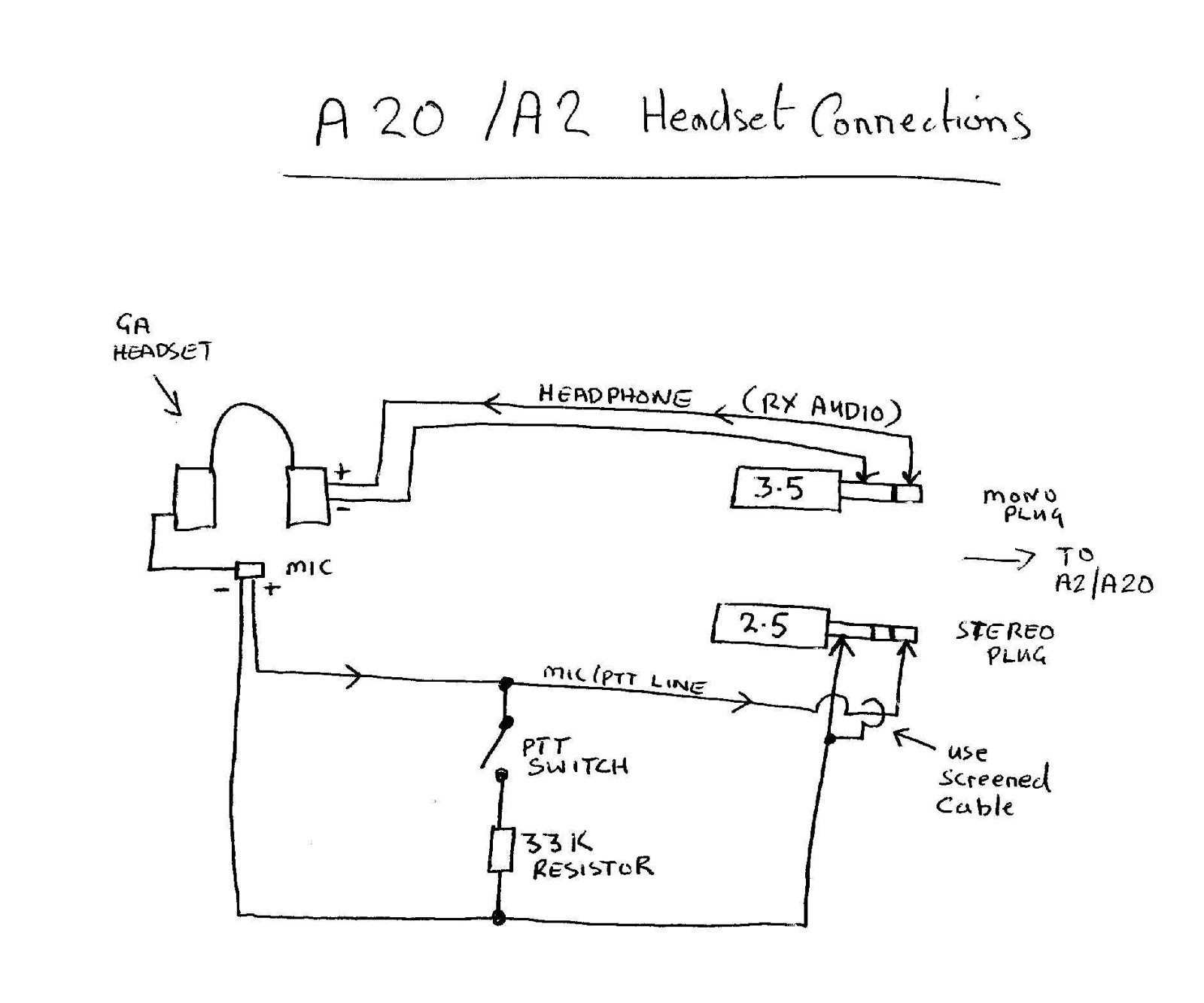 hight resolution of jack mic connector diagram