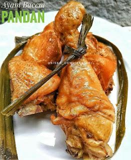 Ide Resep Masak Ayam Bacem Pandan