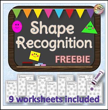 the best of teacher entrepreneurs iii free math lesson shapes recognition worksheets free. Black Bedroom Furniture Sets. Home Design Ideas
