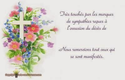 Texte Condoléances Gratuites