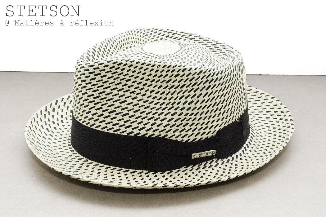 Stetson chapeau femme panama Seattle