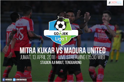Live Streaming Mitra Kukar vs Madura United