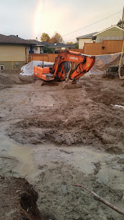 excavation, house, home, custom, construction, de watering, shotcrete, shoring
