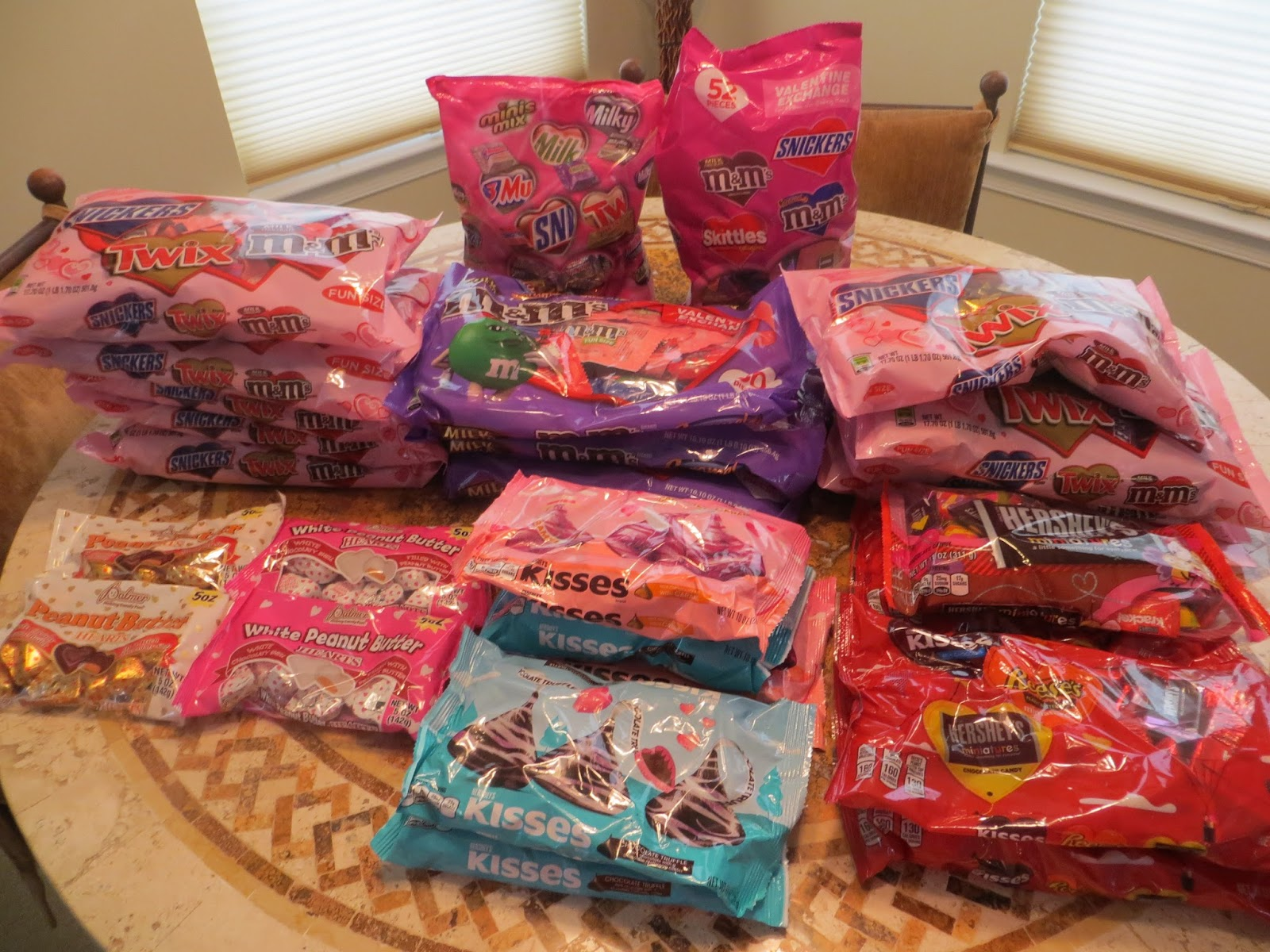 frugal things every day: i hit up the 50% off valentine's candy sale