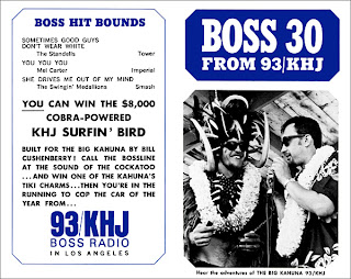 KHJ Boss 30 No. 52 - Frank Terry with Big Kahuna