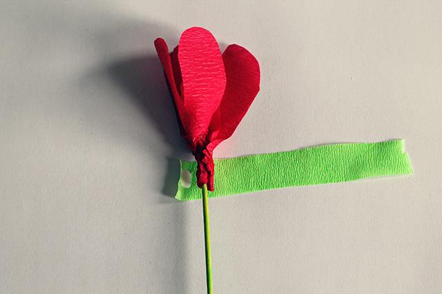 bloem zelf maken papier