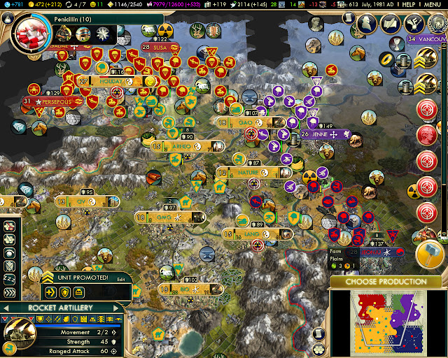 All Against Me | Civilization 5 BNW Screenshot
